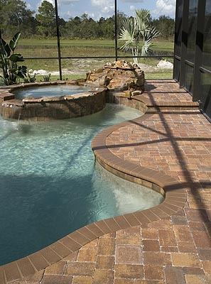 bergerac harvest blend pool deck