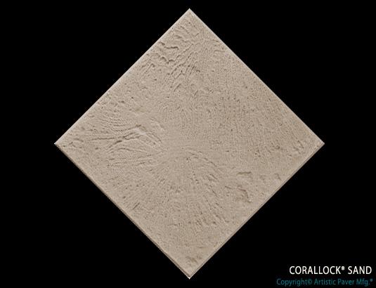 Artistic Pavers colors - corallock - sand