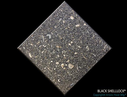 Artistic Pavers colors - custom - black shellock