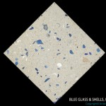 Artistic Pavers colors - custom - blue glass