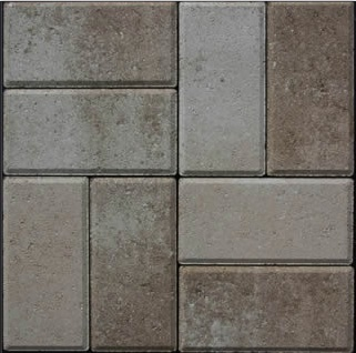 gem pavers amaretto color