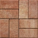 gem pavers orange coral color