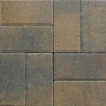 gem pavers tan chocolate color