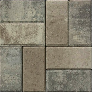 gem pavers tan sandstone taupe color