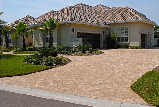 tremron 4 x 8 brick paver driveway
