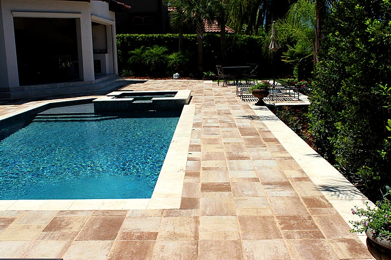 Tremron Bluestone Sand Dune Pool Deck 1