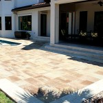 tremron bluestone sand dune pool deck
