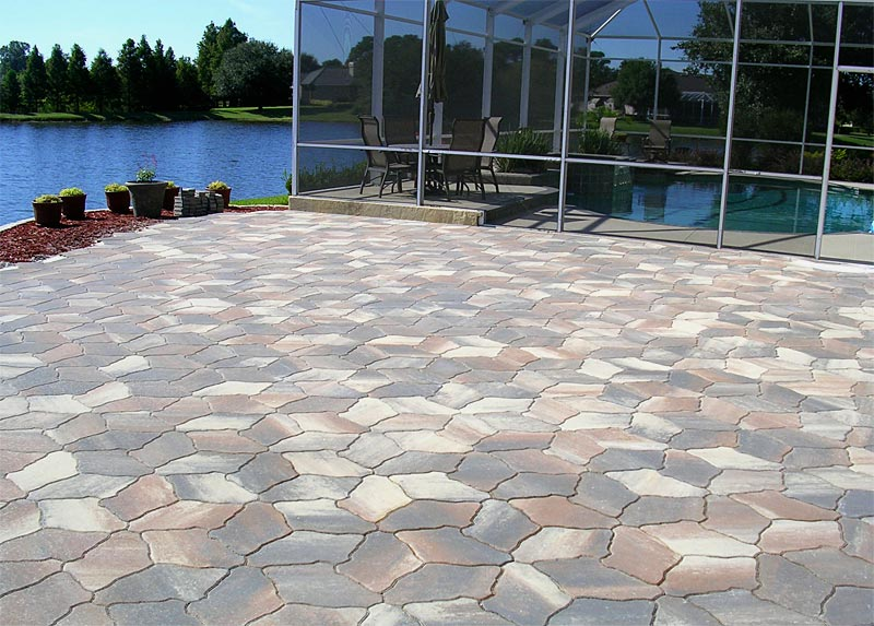 tremron canyon slate pavers sierra color