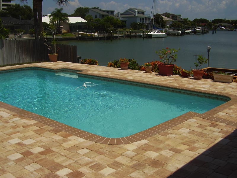 Tremron Olde Towne Cappuccino Pool Deck Residential 2