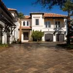 tremron stonehurst mahogany ash driveway sealed