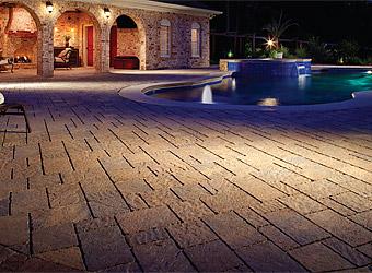 urbana stone pool deck