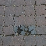 broken pavers