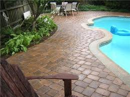 paver sealer on a pool deck