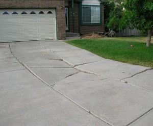 broken concrete driveway miami