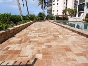 pool deck brick pavers in fort lauderdale