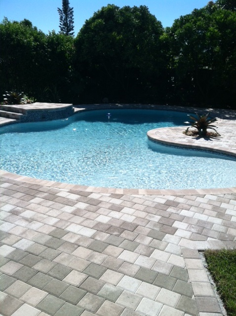 miami pavers pool deck